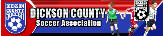 Dickson County Soccer Association - 01 banner